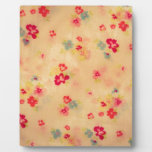 cool floral pattern plaques