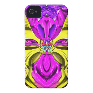 Cool Flourescent Pastel Abstract Pattern iPhone 4 Case-Mate Case