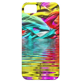 Cool Flourescent Pastel Abstract Water Ripples iPhone SE/5/5s Case