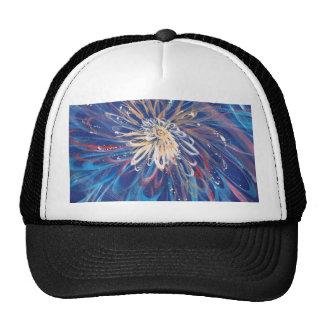 COOL Flower Bursting In the universe Trucker Hat
