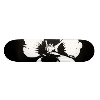 cool flower design skateboard