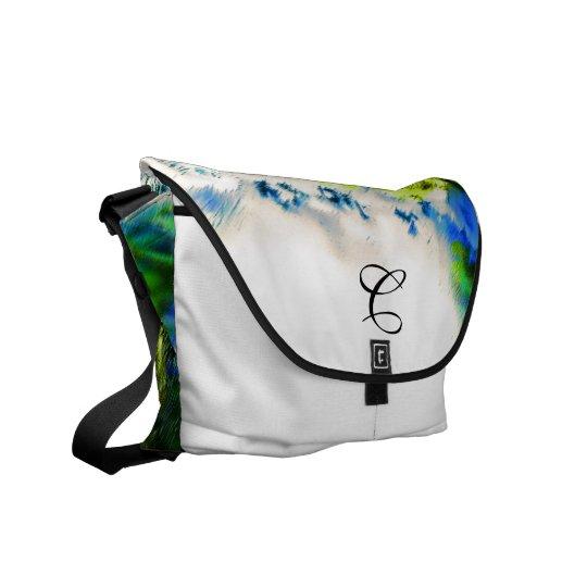 Cool Flowering Garden Messenger Bags