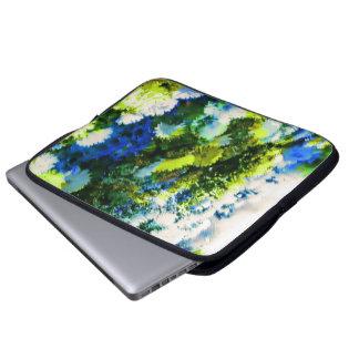 Cool Flowering Garden Neoprene Laptop Sleeve