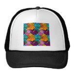 Cool Flowers Pattern Designs Trucker Hats