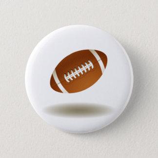 Cool Football Emblem Button