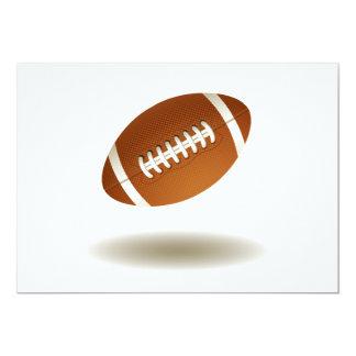 Cool Football Emblem Card