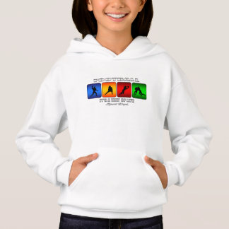 Cool Football It Is A Way Of Life Hoodie