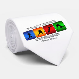 Cool Football It Is A Way Of Life Tie