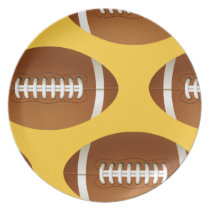 cool football plates