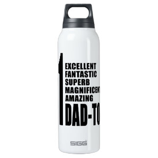 Cool for Future Dads : Number One Dad to Be 16 Oz Insulated SIGG Thermos Water Bottle