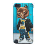 Cool For School Cat Drawing by Al Rio iPod Touch (5th Generation) Covers