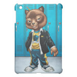 Cool For School Cat Drawing by Al Rio iPad Mini Covers