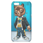 Cool For School Cat Drawing by Al Rio iPhone 5C Cases