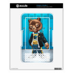 Cool For School Cat Drawing by Al Rio Kindle Skins