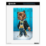 Cool For School Cat Drawing by Al Rio NOOK Color Skin