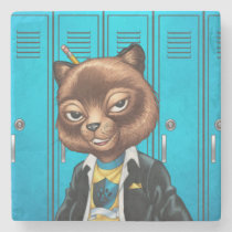 cat, kitten, school, cool cat, smiling, learning, lockers, art, drawing, al rio, happy, congrats, [[missing key: type_giftstone_coaste]] com design gráfico personalizado