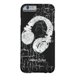cool for the deejay - a d.j. headphone barely there iPhone 6 case