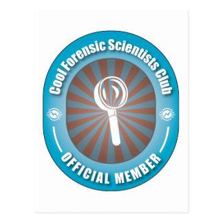 Cool Forensic Scientists Club Postcard
