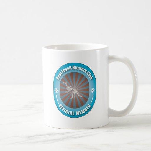 Cool Fossil Hunters Club Coffee Mugs
