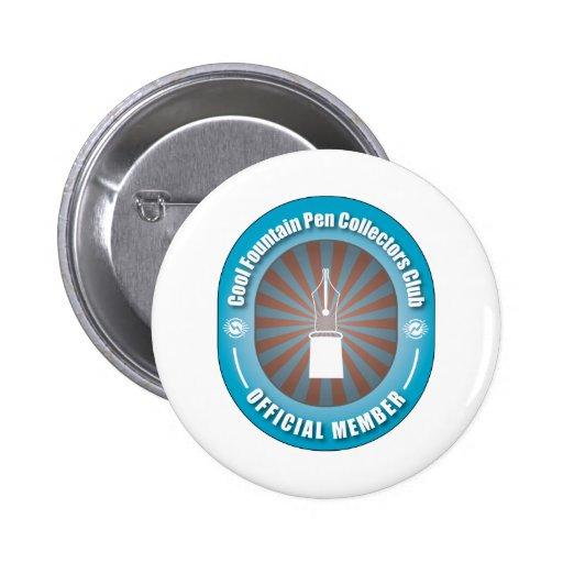 Cool Fountain Pen Collectors Club 2 Inch Round Button