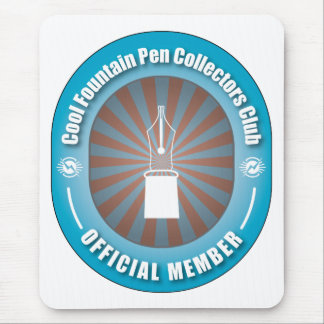 Cool Fountain Pen Collectors Club Mouse Pad