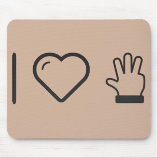 Cool Four Fingers Mouse Pad