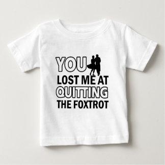 Cool fox trot designs baby T-Shirt