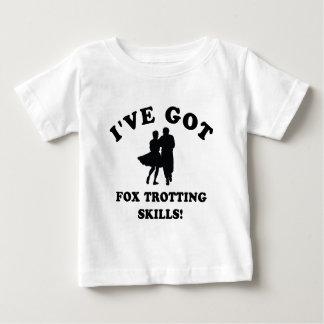 COOL FOX TROTTING SKILLS DESIGNS BABY T-Shirt
