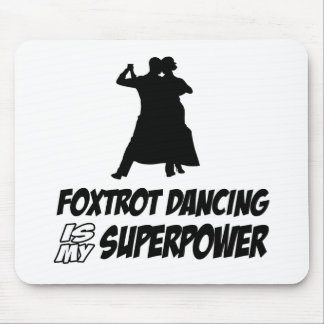 Cool Foxtrot dance designs Mouse Pad