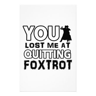 Cool Foxtrot designs will make a great gift item Custom Stationery