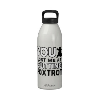 Cool Foxtrot designs will make a great gift item Drinking Bottle