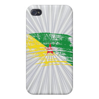 Cool French Guineans flag design iPhone 4/4S Case