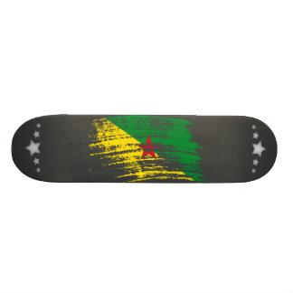 Cool French Guineans flag design Skate Decks