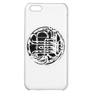 Cool French Horn Design Cover For iPhone 5C