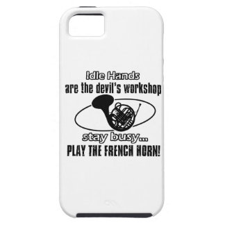Cool French Horn designs iPhone SE/5/5s Case
