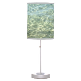 Cool Fresh Seawater Beach House Personalized Desk Lamp