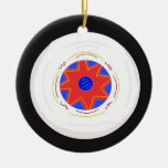 Cool Frisbee Christmas Ornaments
