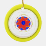 Cool Frisbee Christmas Tree Ornaments