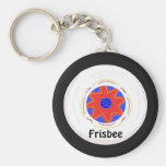 Cool Frisbee Design Key Chains