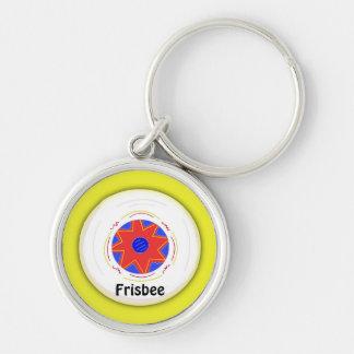 Cool Frisbee Design Keychain