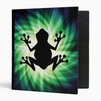 Cool Frog 3 Ring Binder