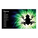 Cool Frog Double-Sided Standard Business Cards (Pack Of 100)