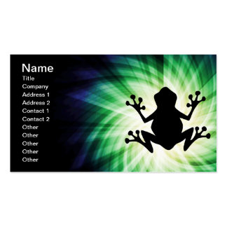 Cool Frog Business Card Templates