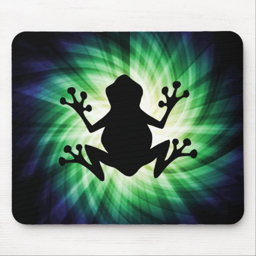 Cool Frog Mouse Pad