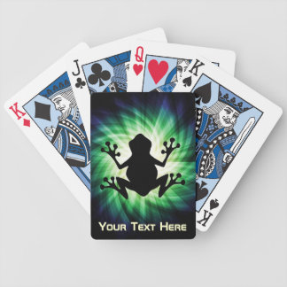 Cool Frog Bicycle Poker Deck