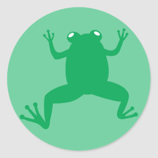 Cool Frog Sticker