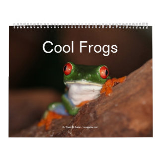 Cool Frogs Calendar