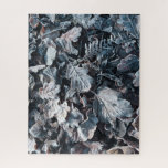 Cool frosty leaves jigsaw puzzle