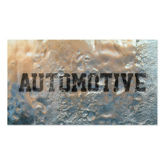 Cool Frozen Ice Automotive Business Card