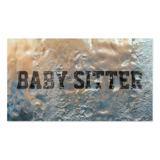 Cool Frozen Ice Baby Sitter Business Card